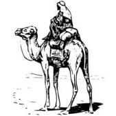 History of Cheese - in the Beginning - Nomad with Camel